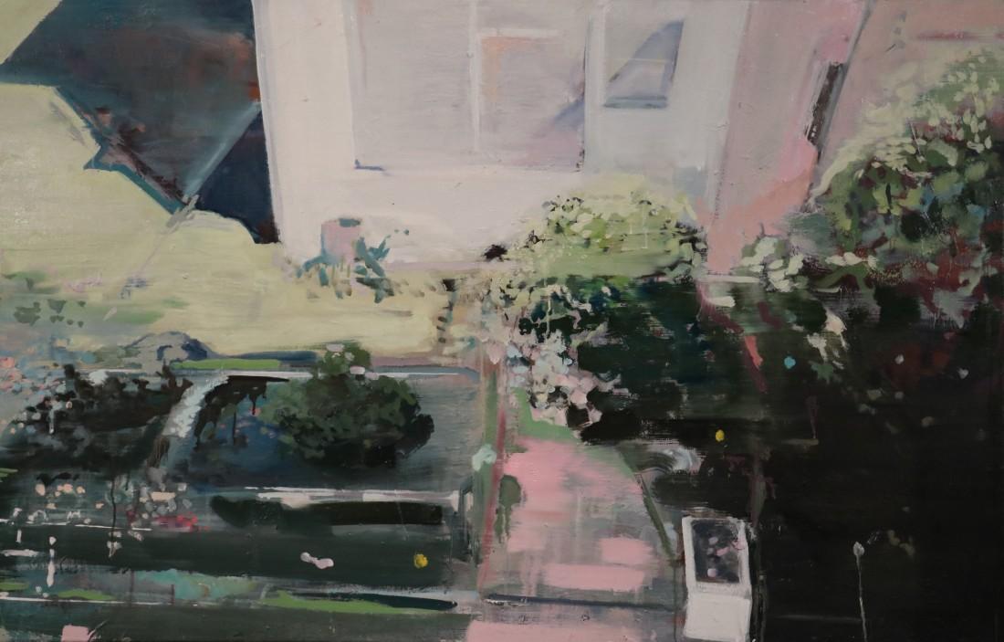 Nico Vaerewijck, Perspectief, 90x140 cm, oil on linen, 2018